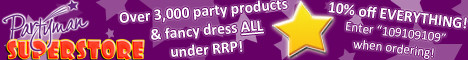 Partyman Superstore - Over 3,000 party products & fancy dress